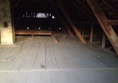 Dachbodenisolierung Reiden alt