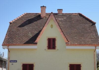 Dachsanierung Eindeckung mit bestehenden Ziegel Aesch