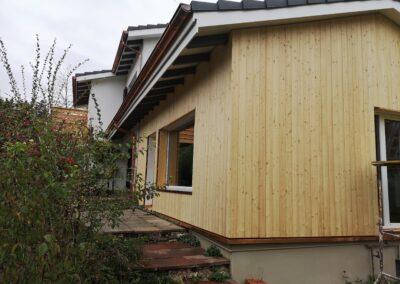 Fassade aus Lärchenholz Gempen