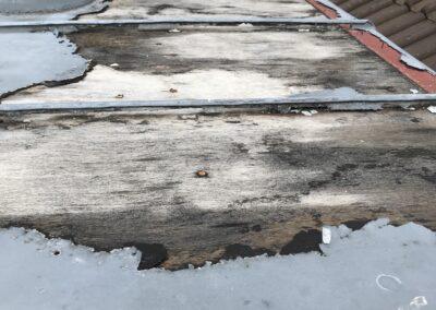 Dach Blechdach korrodiert
