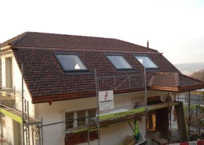 Neubau mit Biberschwanzziegel Basel