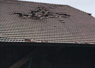 Dach Sturmschaden 2