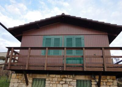 Holzfassade Dornach