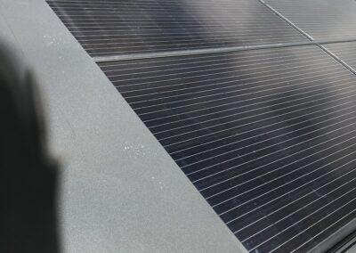 Dachsanierung inkl. Blechverkleidung in Zusammenarbeit mit Solarbauer Holderbank
