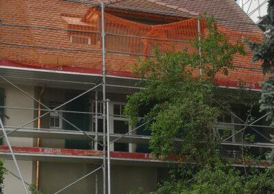 Dachsanierung mit Biberschwanzziegel Riehen