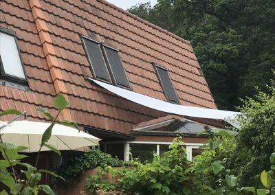 Dachsanierung mit Isolationsaufbau, Eindeckung mit bestehenden Ziegeln Aesch