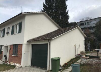 Dachsanierung mit Ziegel Arlesheim alt