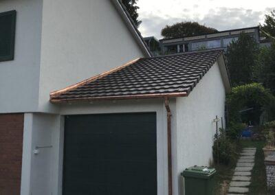 Dachsanierung mit Ziegel Arlesheim neu