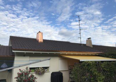 Dachsanierung mit Ziegel Arlesheim